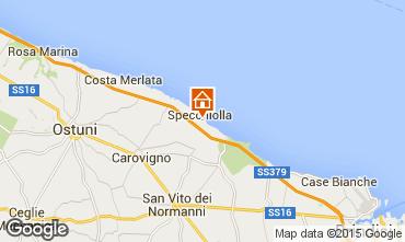 Mappa Ostuni Appartamento 94756