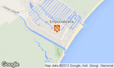 Mappa Empuriabrava Appartamento 82822