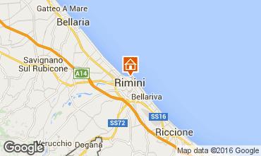 Mappa Rimini Appartamento 103099