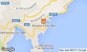Mappa Beaulieu sur Mer Appartamento 90459