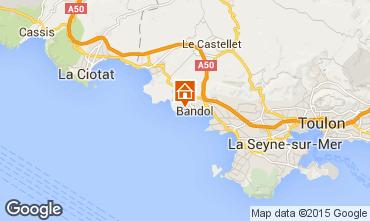 Mappa Bandol Appartamento 71612