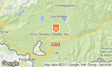 Mappa Font Romeu Appartamento 4131