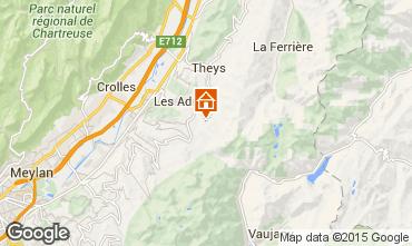Mappa Les Sept Laux Appartamento 73885