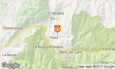 Mappa Alpe d'Huez Monolocale 49666