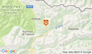 Mappa Santo Stefano di Cadore Appartamento 112842