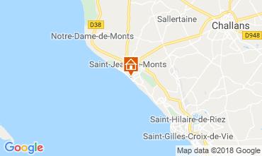 Mappa Saint Jean de Monts Appartamento 81226