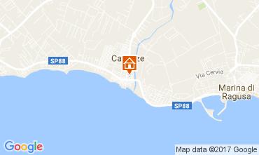 Mappa Marina di Ragusa Appartamento 109677