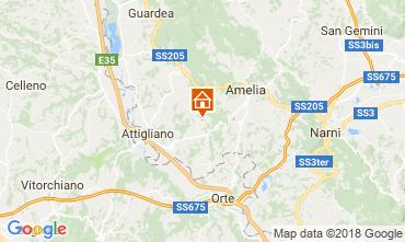 Mappa Amelia Villa  77711