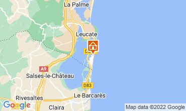 Mappa Port Leucate Appartamento 100839