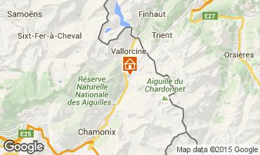 Mappa Chamonix Mont-Blanc (Monte Bianco) Appartamento 28400