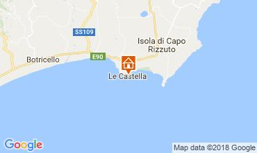 Mappa Le Castella Appartamento 47005