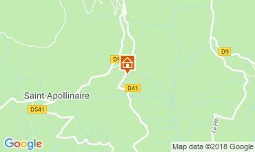 Mappa Risoul 1850 Appartamento 87874