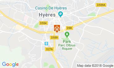 Mappa Hyères Monolocale 94411