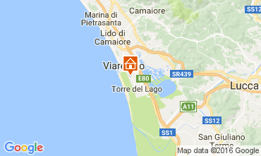 Mappa Viareggio Casa mobile 93402