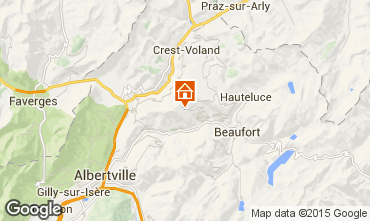Mappa Les Saisies Appartamento 91862