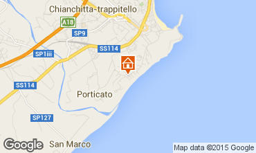 Mappa Giardini Naxos Appartamento 95762