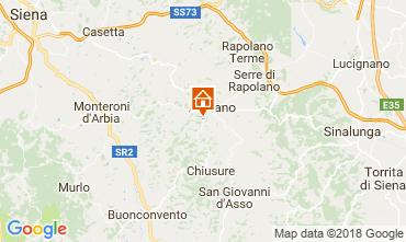 Mappa Siena Appartamento 113564
