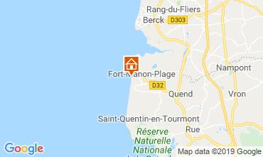 Mappa Fort Mahon Monolocale 117728