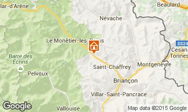 Mappa Serre Chevalier Chalet 57863