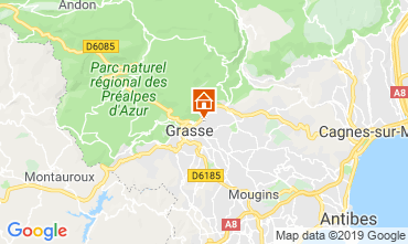 Mappa Grasse Casa 118651