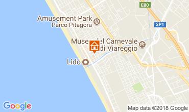 Mappa Lido di Camaiore Appartamento 105133