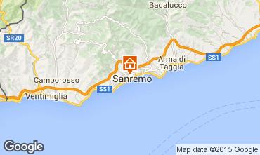 Mappa Sanremo Appartamento 87358
