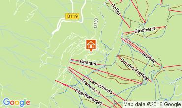 Mappa Les Arcs Appartamento 106746
