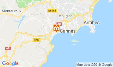 Mappa Cannes Appartamento 118529