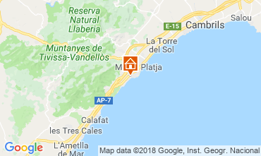 Mappa Miami Playa Villa  114454