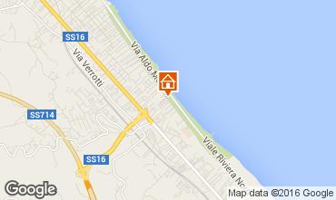 Mappa Pescara Appartamento 87229