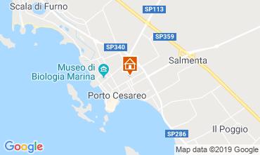 Mappa Porto Cesareo Appartamento 96203