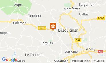 Mappa Draguignan Villa  117687