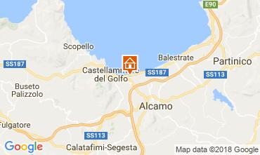Mappa Castellammare del Golfo Casa 97356