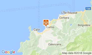 Mappa Lumio Appartamento 101325