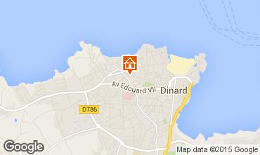 Mappa Dinard Appartamento 20720