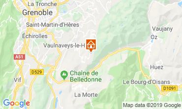 Mappa Chamrousse Monolocale 744