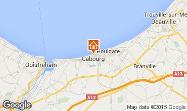 Mappa Cabourg Appartamento 88477
