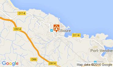 Mappa Collioure Appartamento 103405