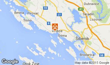 Mappa Vodice Appartamento 92569