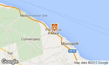 Mappa Polignano a Mare Appartamento 63427