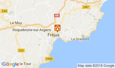 Mappa Fréjus Appartamento 114903