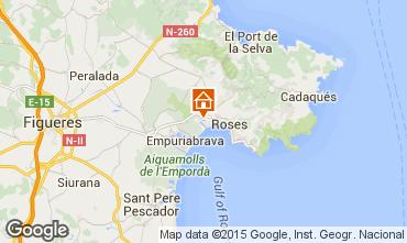 Mappa Rosas Appartamento 81607