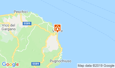 Mappa Vieste Bungalow 108206
