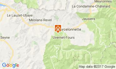 Mappa Pra Loup Appartamento 80160