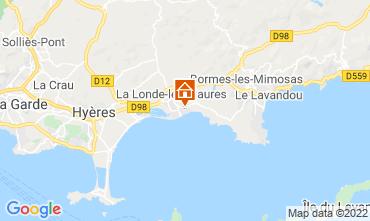Mappa La Londe les Maures Appartamento 68831