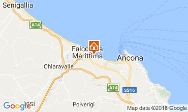 Mappa Falconara Marittima Appartamento 99161