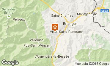 Mappa Briançon Chalet 33866