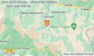 Mappa Valloire Appartamento 3383