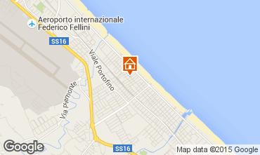 Mappa Riccione Appartamento 52857
