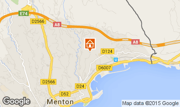 Mappa Menton (Mentone) Agriturismo 5408